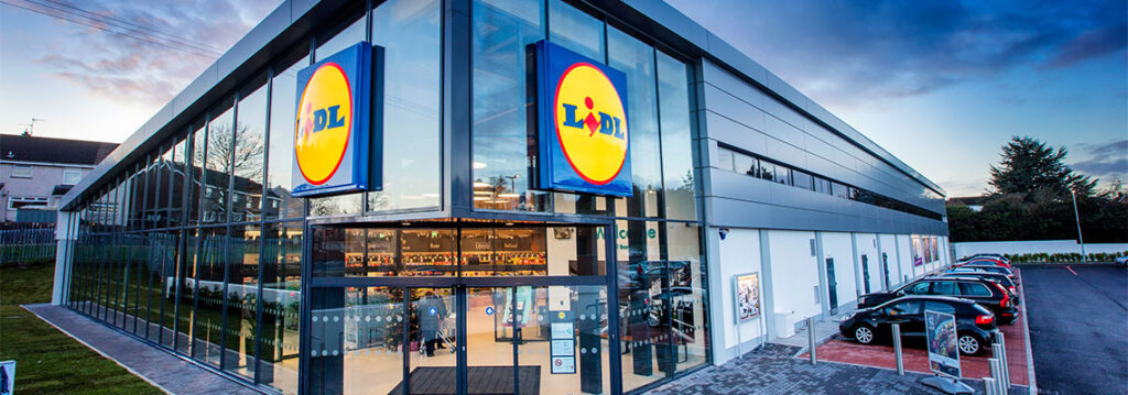 Lidl's Fire Resistant Curtain Wall