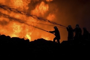 Prison fires