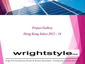 PDF attachment of a selection of Wrightstyle projects in Hong Kong 2012-2016