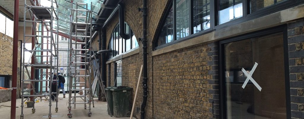 specialist glazing with fire rated system under Tower Bridge